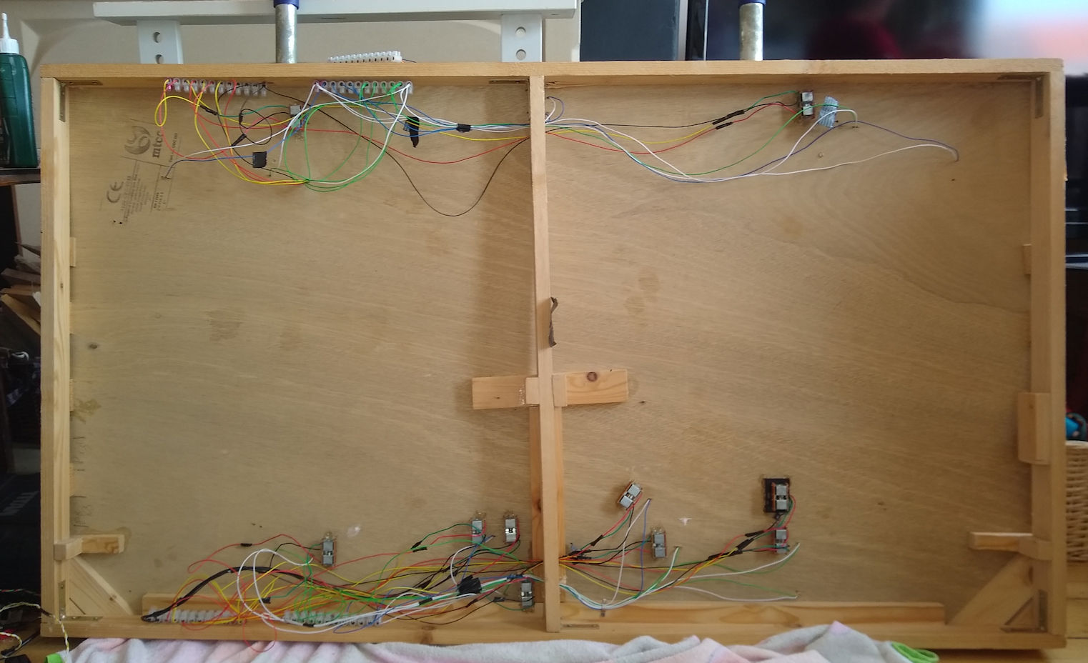 StoweyGreen Base Wired - Awaiting Final Wire Up