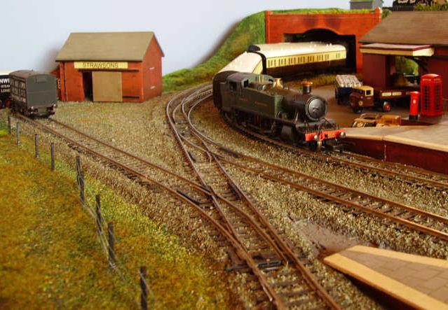Old Burton - Station Greenery