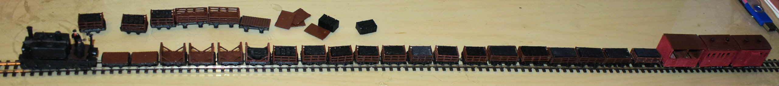 OO9 Slate Train